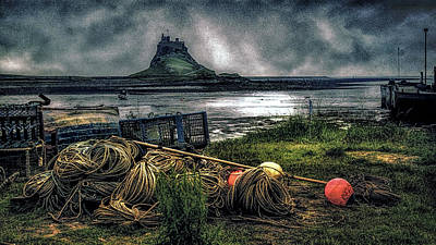 Photograph - Fishing Gear At Lindisfarne. by Brian Tarr
