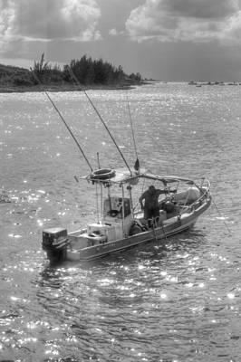 Photograph - Fishing Honduras by Bill Hamilton