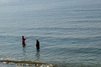 Photograph - Fishing In The Gulf by Tikvah's Hope