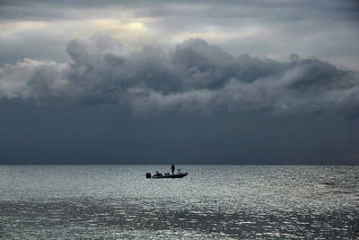 Photograph - Fishing In The Morning by Angela Murdock