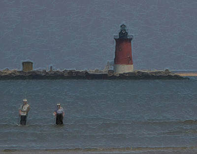 Photograph - Fishing In The Ocean by Kathi Isserman