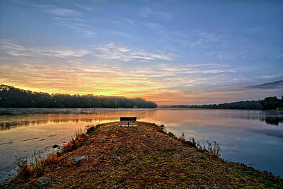 Photograph - Fishing Jetty by Bonfire Photography