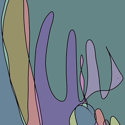 Digital Art - Fishing by June Krisko