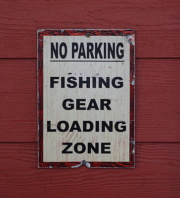 Photograph - Fishing Loading Zone by Laurie Perry