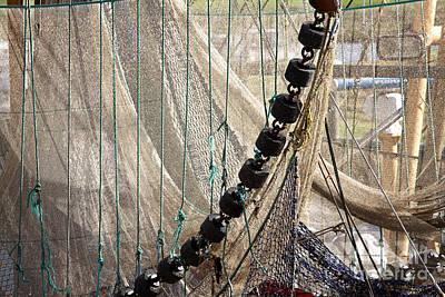Photograph - Fishing Net Drying by Jan Brons