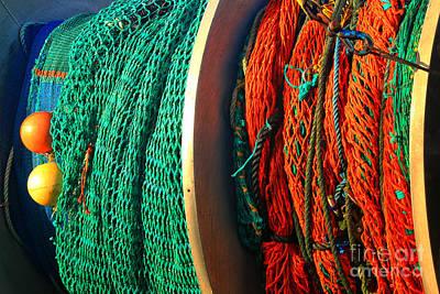 Photograph - Fishing Nets by Adam Jewell