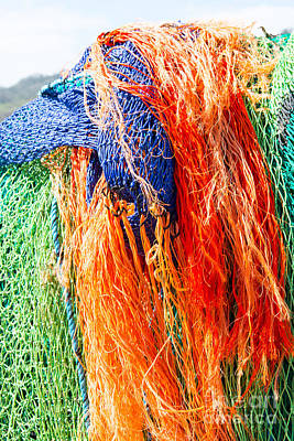 Photograph - Fishing Nets by Colin Rayner