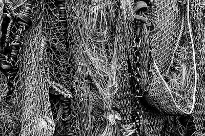 Photograph - Fishing Nets by David Hare