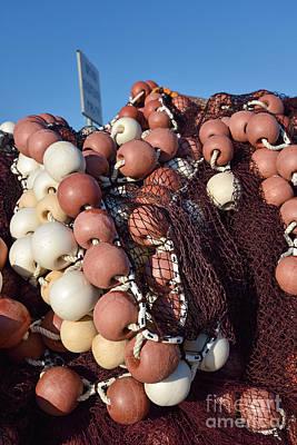 Photograph - Fishing Nets by George Atsametakis