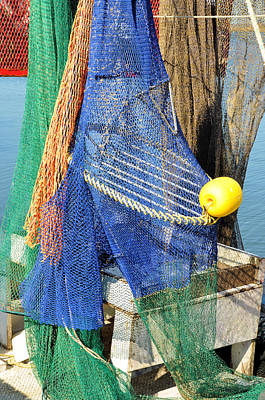 Photograph - Fishing Nets by Jan Amiss Photography