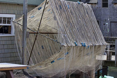 Photograph - Fishing Nets by Ron Grafe