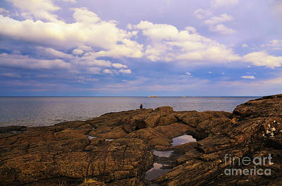 Photograph - Fishing On Presque Isle by Rachel Cohen