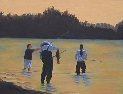 Fishing On The Fraser Original