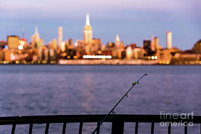 Photograph - Fishing On The Hudson by Zawhaus Photography