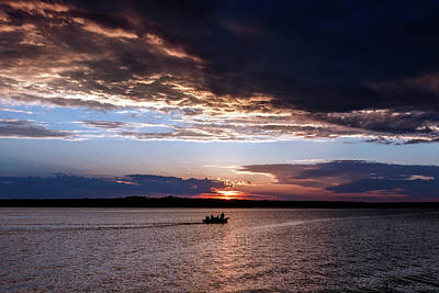 Photograph - Fishing On The Lake by Doug Long