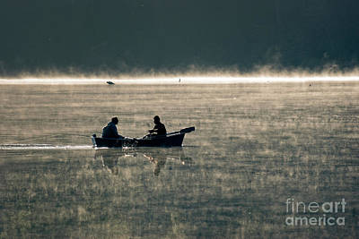 Photograph - Fishing On The Lake by Jim And Emily Bush