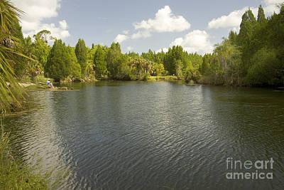 Suwannee River Photograph - Fishing On The Suwannee by Inga Spence