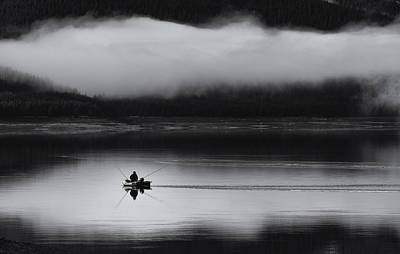 Mist Wall Art - Photograph - Fishing Passion by Julien Oncete