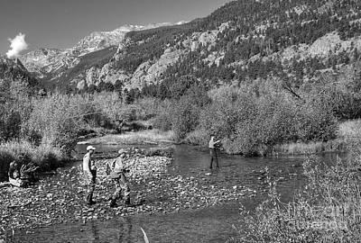 Photograph - Fishing by Pete Hellmann
