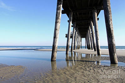 Photograph - Fishing Pier by Denise Pohl