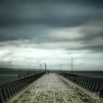Photograph - Fishing Pier by Perry Webster