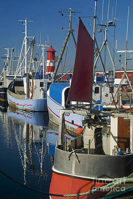 Habor Photograph - Fishing Port by Wedigo Ferchland