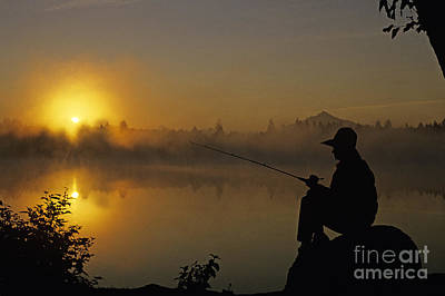 Photograph - Fishing Rock by Jim Corwin