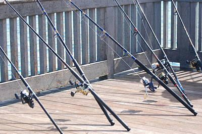 Photograph - Fishing Rods by Rob Hans
