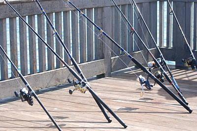 Fishing Rods Original by Rob Hans