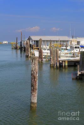 Photograph - Fishing Shanties And Boats On Tangier Island Chesapeake Bay by Louise Heusinkveld