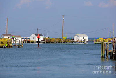 Photograph - Fishing Shanties And Crab Pots On Tangier Island Chesapeake Bay by Louise Heusinkveld