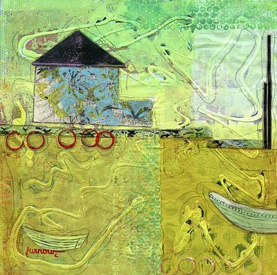 Painting - Fishing by Sue Furrow