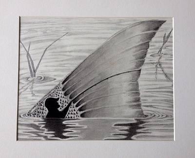 Fishing Tail Art Print