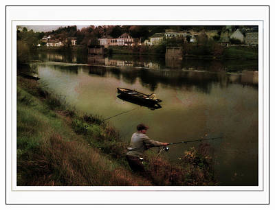 Photograph - Fishing The Loire River by Hugh Smith