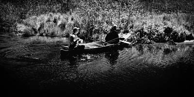 Photograph - Fishing The Moose River by David Patterson