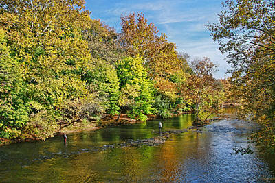 Photograph - Fishing The Raritan by Allen Beatty