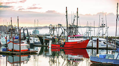 Photograph - Fishing Town by Walt Baker