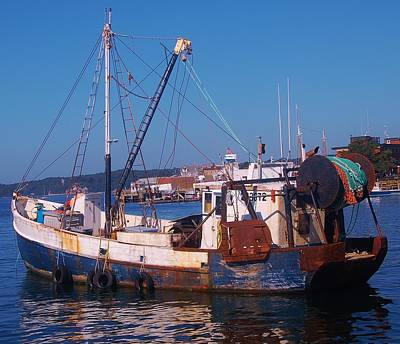 Photograph - Fishing Trawler by Christopher James