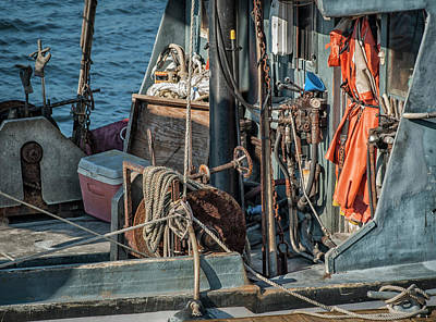 Photograph - Fishing Trawler by Rick Mosher