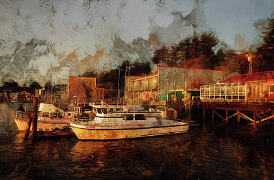 Photograph - Fishing Trips Daily by Thom Zehrfeld