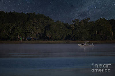 Photograph - Fishing Under The Stars by Dale Powell