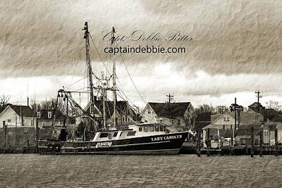 Photograph - Fishing Vessel Lady Carolyn by Captain Debbie Ritter