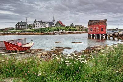 Photograph - Fishing Village - Nova Scotia - Canada by Nikolyn McDonald