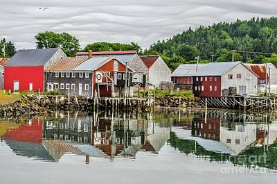 Photograph - Fishing Village by Roger Lewis
