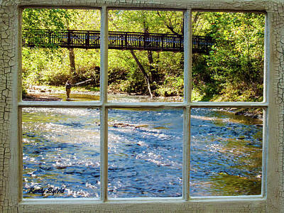 Photograph - Fishing Window by Randy Sylvia
