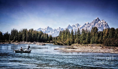 Photograph - Fishing With A View by Scott Kemper
