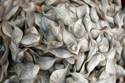 Fishmarket Abstract Art Print