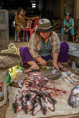 Photograph - Fishmonger 2 by Werner Padarin