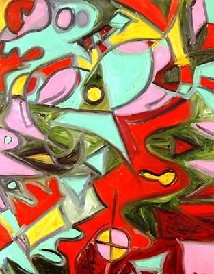 Alfredo Llana Painting - Fishtank 1  by Alfredo Dane Llana