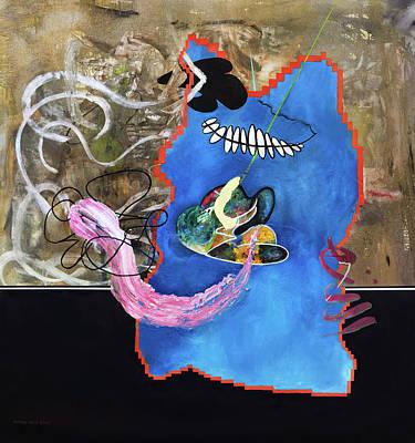 Painting - Fishtank  by Antonio Ortiz